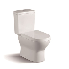 080A Popular Two Piece Ceramic Toilet with PP Slow Down Closet Cover