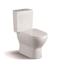 080A WC de cerâmica popular de duas peças com cobertura de armário PP Slow Down