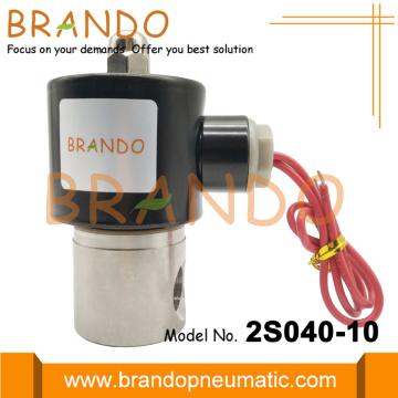 Válvula solenoide neumática de 3/8 '' 2S040-10