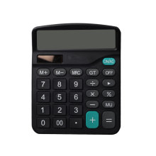 12 Digits Office Electronics Calculator with Dual Power