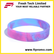 Colourful OEM Silicone Wristband with Logo