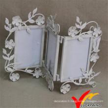 Cadre Photo Foldable en Métal 3 Photos