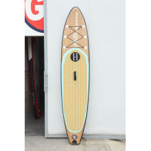 High Quality Wood Grain Pattern Surf Board for Surfing-Lover