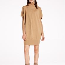 17 PKCS271 2017 malha de lã cashmere de malha camisola da senhora vestido