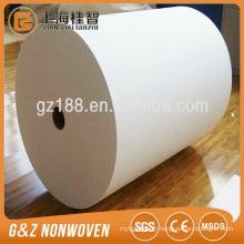 Le meilleur prix humide lingettes matière première 100% polyester non-tissé hydrophile
