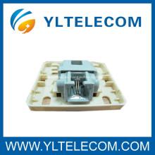 Caja de montaje telefónico sin herramientas con conector Keystone de red de gel