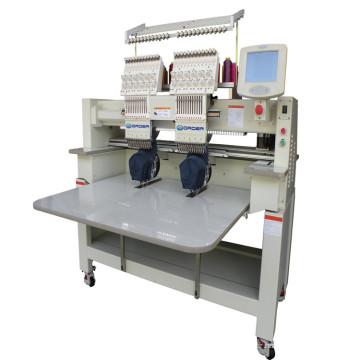 Machine à broder informatisée à 2 têtes
