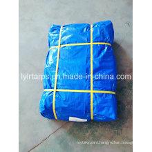 China Finished Blue Plastic Tarpaulin Sheet, PE Tarp Cover, Blue Poly Tarp