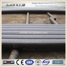 carbon seamless black steel pipe