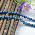 Real Gemstone Jewelry Natural Faceted Round Beaded Necklace