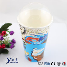Specialist Disposable Frappe Cold Drink Waxed Paper Cup