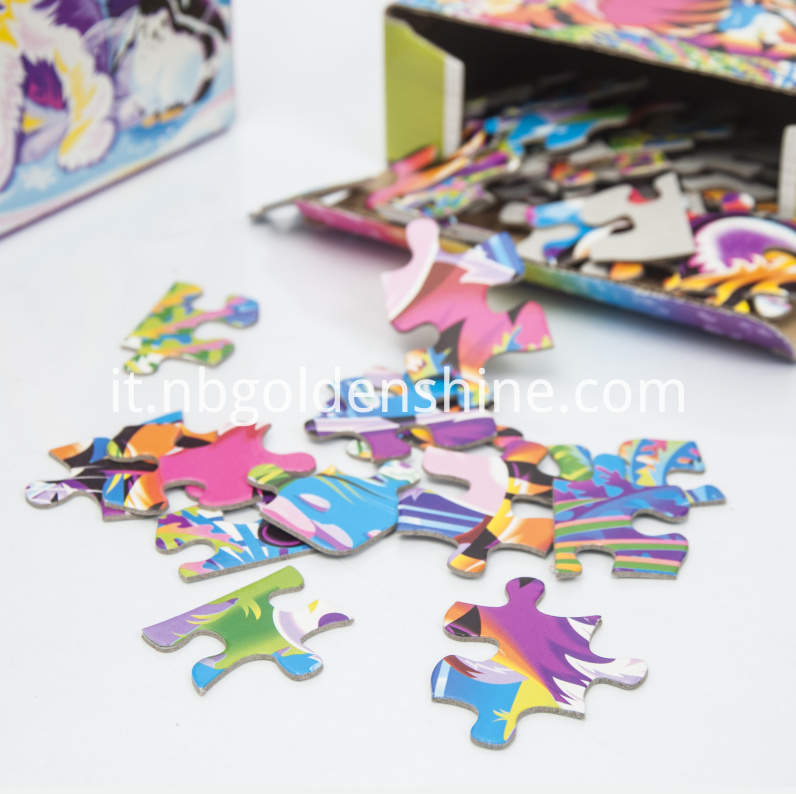 Jigsaw Paper Puzzle