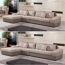 Lange Chaise Lounge Lazy Gepolstertes Sectional Sofa