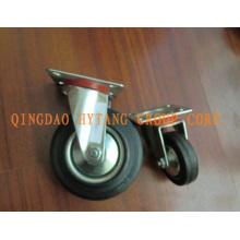 Промышленные резиновые рицинус колеса N182