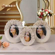 Guangzhou bedroom vintage home decor retro polyresin picture photo frame