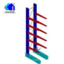 Jracking almacén de calidad superior tienda de chapa de alta resistencia bastidores verticales de almacenamiento