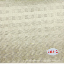 China Cuero decorativo de PVC con transpirable
