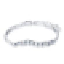 Damen 925 Sterling Silber Kristall Armband