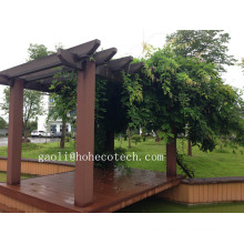 Dauerhafte Möbel der Pavillions-Pergola WPC im Freien / Wetter-Beweis-Pergola