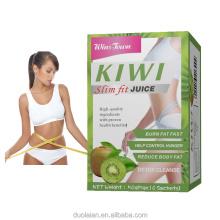Private label OEM Factory Supply Wholesale kiwi Instant Slim Fruit Powder for Weight control Fat Burn kiwifruit Juice