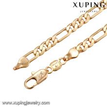 43672 mode vente chaude accessoires pour femmes collier 18 k délicat beau collier de bijoux plaqué or