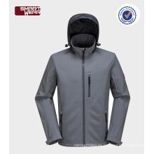 trajes de hombres de deportes chaqueta blazers softshell con capucha