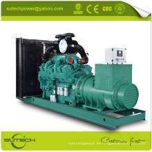 Generador diesel silencioso de alta calidad 1250 kva accionado por el motor CUMMINS KTA50-G3