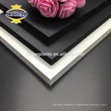 JINBAO hard plastic sheets sintra board black pvc foam sheet