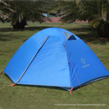 2 Personen 7.9mm Fiberglas Pole Outdoor Automatisches Zelt