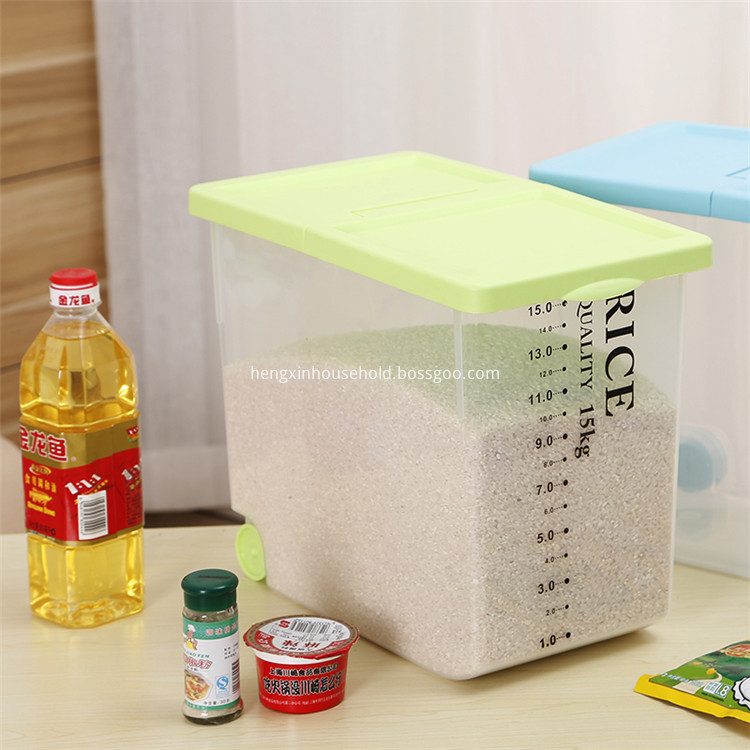 plastic rice dispenser