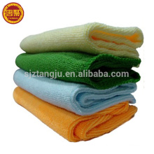 Quick-drying 40*40cm microfiber car wash cloth/hotel cleaning towel