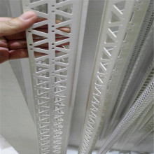 Paneles de yeso de plástico grano de esquina de 45 grados