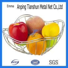 Cesta de frutas de aço inoxidável (TS-E85)