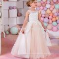 La nueva llegada 2017 ve a través del vestido encantador sin mangas de la muchacha de flor del cordón para casarse
