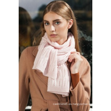 2016 venta al por mayor nueva señora del diseño el 100% de la bufanda mongol interna Cashmere