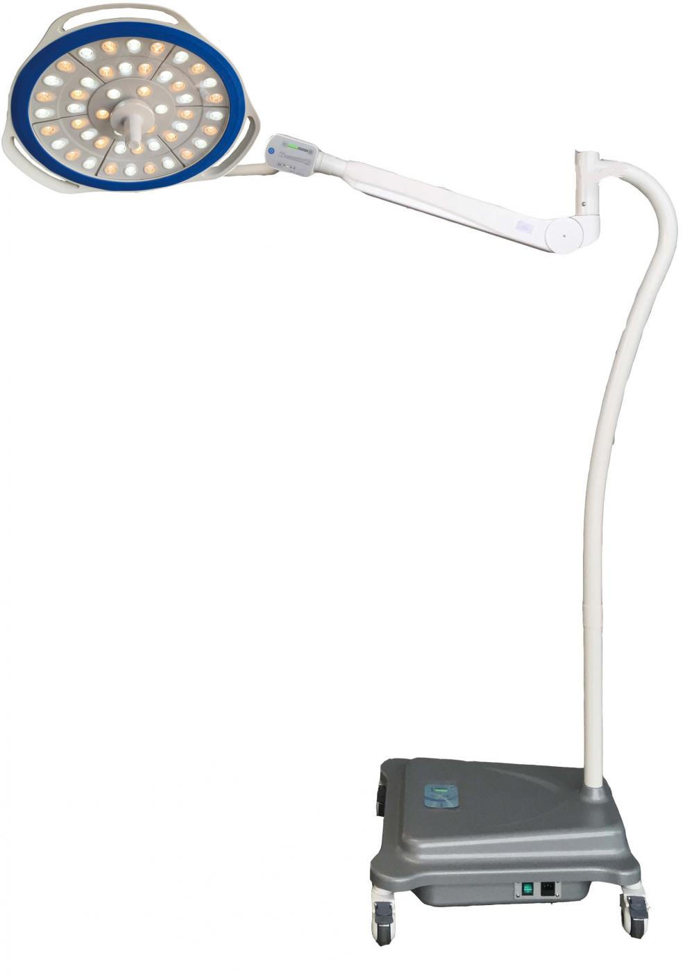 Mobile LED-Lampe ohne Schatten
