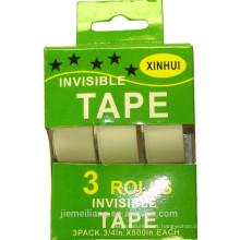 JML 3PK Cinta adhesiva transparente Cinta invisible con caja de presentación