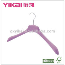 Rubber lacquer ABS hanger for coat