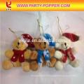 Toy Party Poppers en Grenade Transparence Tube con red de seguridad