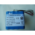 14.8V 10.4Ah rechargeable lithium batteries with smbus