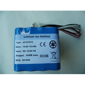 Military quality 14.8V lithium ion rechargeable battery