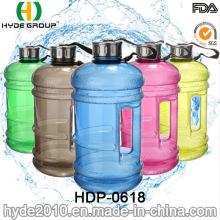 2.2L Großhandel Kunststoff PETG Wasserkrug, hohe Qualität Kunststoff Sport Wasserflasche (HDP-0618)