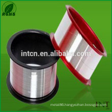 Chinese factory supplies polished silver wire 99.99%