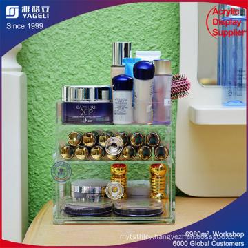 Factory Custom Design Acrylic Cosmetic Organizer
