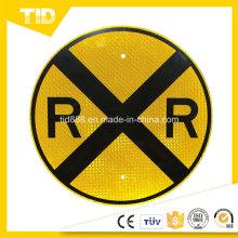 Signo especial etiqueta reflectante para la seguridad del tráfico