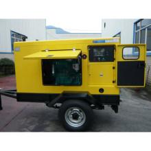 Generador móvil diesel del remolque insonoro impermeable 20kw (UT25)