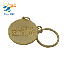Hot Sale Cheap Promotional Custom Alloy Elegant Design Keychain For Bag