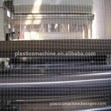 PP, 1--4m, multi purpose,plastic square stretched net making machine
