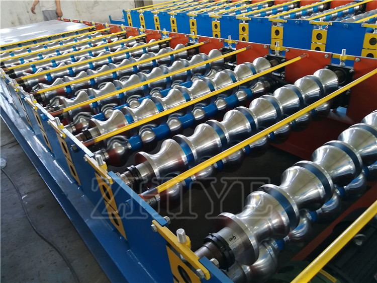 steel wall making machines