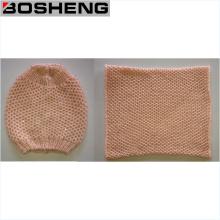 Winter Warm Fashion Soft Strickmütze und Infinity Schal